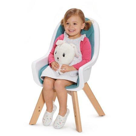 Krzesełko do karmienia Kinderkraft TIXI 2w1 turquoise